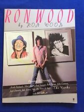 RON WOOD BY RON WOOD - FIRST EDITION INSCRIBED (TWICE) BY RON WOOD