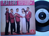 "The Platters / The Great Pretender / Only You / I'm Sorry / My Prayer 7"" EP"