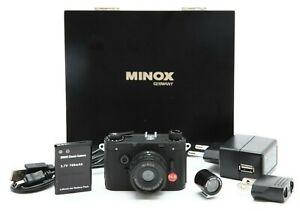 Mint Minox DCC 14 Digital Camera with Viewfinder & Box #33114