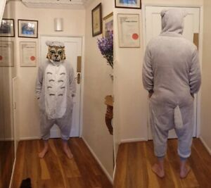 New Adult Full Totoro Body Suit,Fancy Dress,Cosplay,Stag Night,PJ's,Kids Party,M