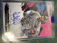 2021 Topps Inception Santiago Espinal PINK ROOKIE AUTO #30/99 Blue Jays RC