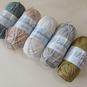 Knitting Yarn ~ Stylecraft Moonbeam now £1.99 - cotton rich yarn - 50g balls