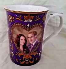 NEW Prince William & Catherine Middleton Mug Cup Marriage April 2011 Commemorate