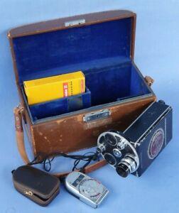 Bell & Howell Filmo Auto Master 16MM Cine Camera & Sekonic Auto-Leader 38