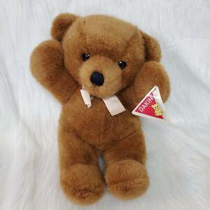 "14"" Vintage Cuddles Brown Bear 30520 Rare W Orig Tag Plush Stuffed Toy B300"