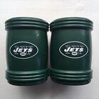 New York Jets Magna-Coolie Sports Set Of 2 Beer Drink Magnetic Holders Coolers