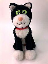 Postman Pat Rare Jess the Cat Black & White Meowing Talking Cat Soft Plush Toy