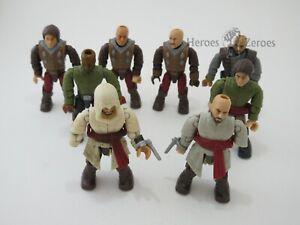 Assassin's Creed Mega Bloks Set Fortress Guard Army Builder Figure Lot of 8x
