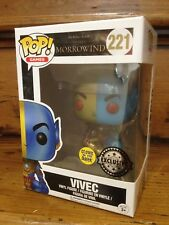 Funko Pop! MORROWIND Vivec Glow in the dark (GITD) #221 Esclusivo Figura in vinile