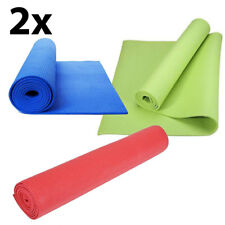 2X Tappetino palestra tappeto materassino materasso ginnastica 61x173x0,4cm 2YM6