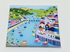 HANDMADE MINIATURE DOLLS HOUSE ACCESSORY CANVAS STYLE WALL ART PICTURE Seaside 1