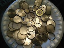 Vintage Wrist Watch Case Backs 4 Crafts Magnets Various Sizes 4.7 oz's 40 pcs