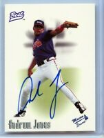 Andruw Jones 1996 Best Minors Signature Autograph Rookie ATLANTA BRAVES