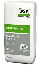 (0,92?/1kg) EuroGrout Plast 04 Stopfmörtel 25kg Mörtel Unterstopfmörtel