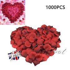 1000 pièces soie rose pétale de fleur Confettis fiançailles célébration