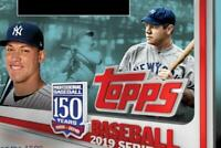 2019 Topps Baseball Series One MLB 150th Anniversary Cards Pick From List 1-250