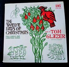 TOM GLAZER-THE TWELVE DAYS OF CHRISTMAS FOLK CAROLS & CHRISTMAS SONGS-SEALED LP
