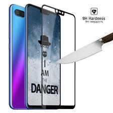 9H Full Cover Screen Protector Tempered Glass Film For Xiaomi Mi 8 Lite 8X Black