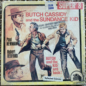 Butch Cassidy And The Sundance Kid ~ SUPER 8 Movie ~ Paul Newman Robert Redford