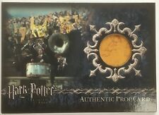 Prop Trading Card P12 Harry Potter and The Goblet of Fire Gryffindor Banner