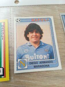 Album Figurine Calciatori Panini 1986 87 N 209 Maradona Napoli Nuova Con Velina