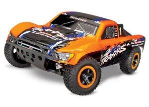 Traxxas Slash 4x4 4WD Electric Short Course Truck - Orange