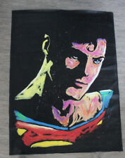 Rock Demarco Original Painting Famous Speed Painter Superman Christopher Reeve
