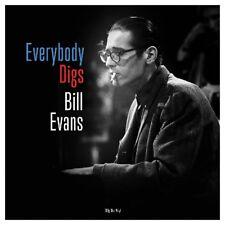 BILL EVANS - EVERYBODY DIGS (BLAUES VINYL)   VINYL LP NEUF