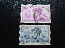FRANCE - timbre yvert et tellier n° 296 297 obl (A4) stamp french (R)