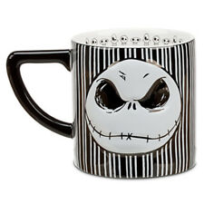 NIB Disney Parks Jack Skellington 2 Sided Mug Cup Bow Nightmare Before Christmas