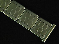 Vintage German Made Expansion Stainless Steel Watch Band 18mm Bracelet NOS
