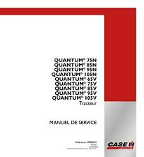 CASE QUANTUM 75N 85N 95N 105N 65V 75V 85V 95V 105V TRACTOR SERVICE MANUAL FRENCH