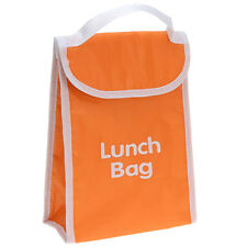 Cooler Lunch Bag Thermal Insulated Kids Office Hot Cold Food Portable School Orange