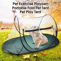 Portable Pet Dog Cat Outdoor Folding Tent Camping Mesh Playpen Fun Carry bag