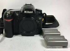 Nikon DSLR D80 camera body with strap 70% condition
