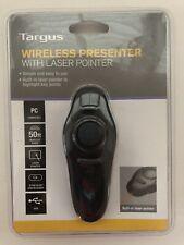 Targus Wireless Presenter with Laser Pointer (AMP16US)