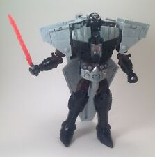 Star Wars Darth Vader Transformers Star Destroyer Loose Robot Figure Light Saber