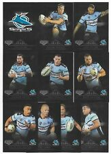 2018 NRL Elite SHARKS Silver Special Parallel Team Set