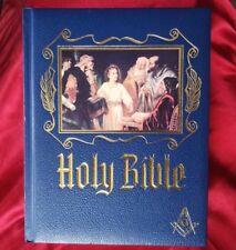 Holy Bible King James Red Letter Masonic illustrated gilt 1988 Heirloom DeVore