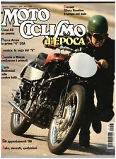 NUMERO 1 1996 MOTOCICLISMO D'EPOCA - DOSSIER GILERA RONDINE - GUZZI 65