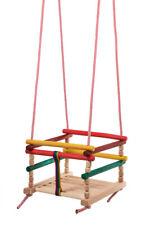 Babyschaukel Kinderschaukel Gitterschaukel Holzgitterschaukel Holz