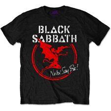 Official T Shirt BLACK SABBATH- ARCHANGEL NEVER SAY DIE All Sizes Black Mens New