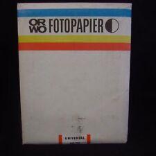 ORWO Fotopapier