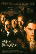 THE MAN IN THE IRON MASK - Film Movie Poster - LEONARDO DICAPRIO