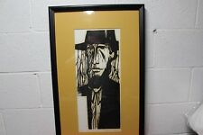 Constantine Kermes Pennsylvania State University Exhibit Rooted Man 1971 A/P