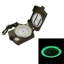 Metal Waterproof Professional Pocket Military Army Geology Compass Navigator
