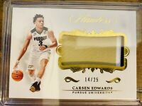 Carsen Edwards Panini Flawless No 27 🔥🔥🔥