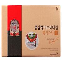 KGC Cheong Kwan Jang Korean Red Ginseng Extract Every Time Longest 20 Sticks 정관장