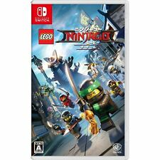 The LEGO NINJAGO Movie the Game NINTENDO SWITCH JAPANESE IMPORT REGION FREE