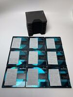 9x Sony Recordable MD-74 min Color Collection Digital Audio Minidisc Teal